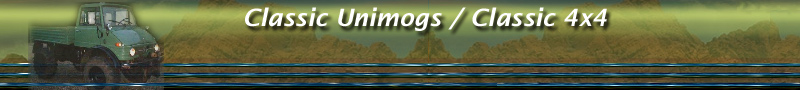 Welcome to Classic Unimogs / Classic 4x4: a reputable online shop and showcase for off-road fans!
