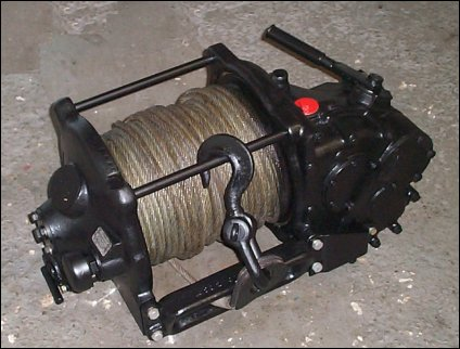 Mercedes Benz Type A Front PTO Winch