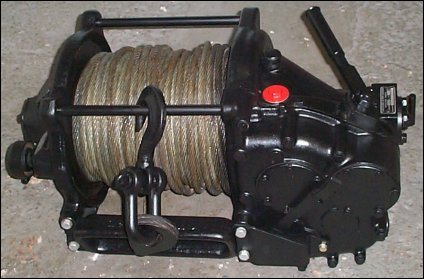 MB Type A Front PTO Winch