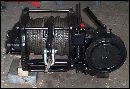 MB Type C Front PTO Winch