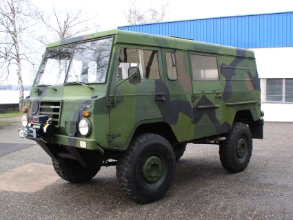 1975 Swedish Military Volvo C303 / TGB 11, 125 HP