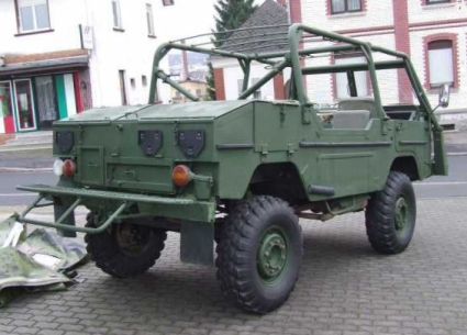 Classic Unimogs for Sale - 1975 Ex Swedish Military Volvo TGB 1111, Soft Top