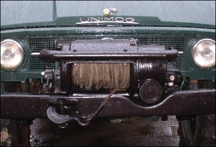 Werner F64 Front PTO Winch