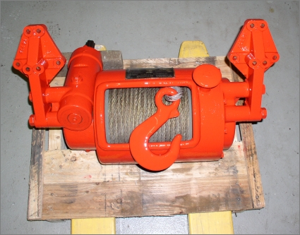 1979 Werner H64 Rear PTO Winch - Type I