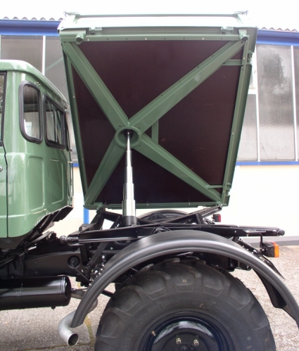 1977 Unimog 416 DoKa with 3-Way Tipper Bed + Winch