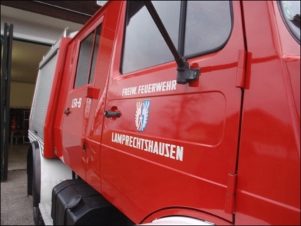 1982 Unimog 1300 L Double Cab Fire Truck + Werner Winch