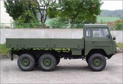 1975 Swedish Military Volvo C303/TGB 13, 6x6 with Aluminum Bed