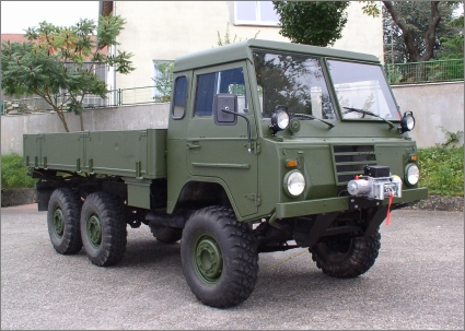 1975 Swedish Military Volvo C303/TGB 13, 6x6 with Rear Bed, Pritsche