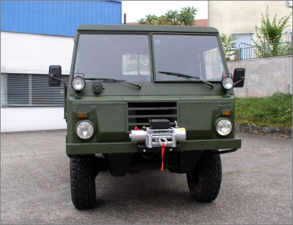 1975 Swedish Military Volvo C303/TGB 13, 6x6 with Flat Bed+Winch