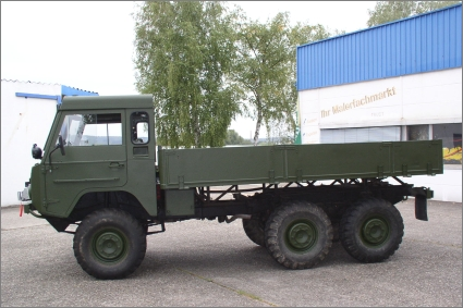 1975 Military Volvo C303/TGB 13, 6-Wheel with Rear Bed