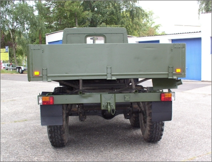 1975 Swedish Military Volvo TGB 13, 6x6 with Bed + Winch + Spare
