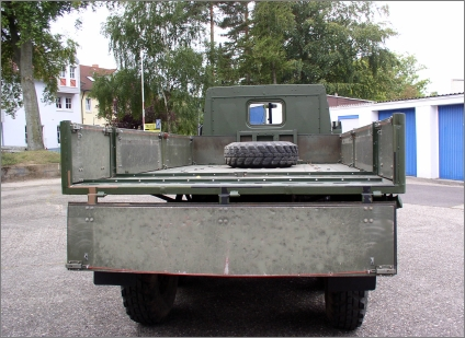 1975 Swedish Military Volvo TGB 13, 6x6 with Rear Bed, Rust Free