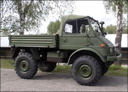 Unimog For Sale >> Classic Unimogs for Sale - 1976 Unimog 406 Bundeswehr, MINT condition