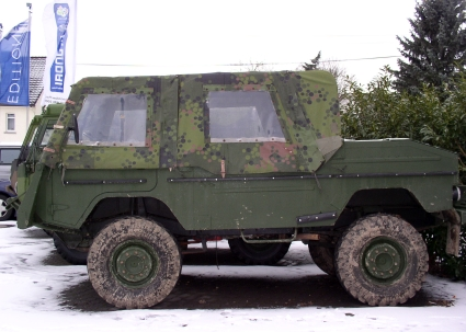 Classic Unimogs for Sale - 1975 Ex Swedish Military Volvo TGB 1111, Soft Top