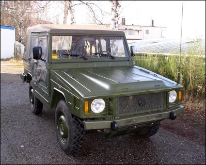 Classic Unimogs for Sale - 1988 VW ex-military Iltis Diesel